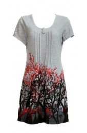 Branches Tunic Grey