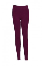 Burgandy Thermal Leggings