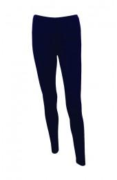 Plain Navy Blue Leggings