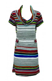Stripes Tunic Grey
